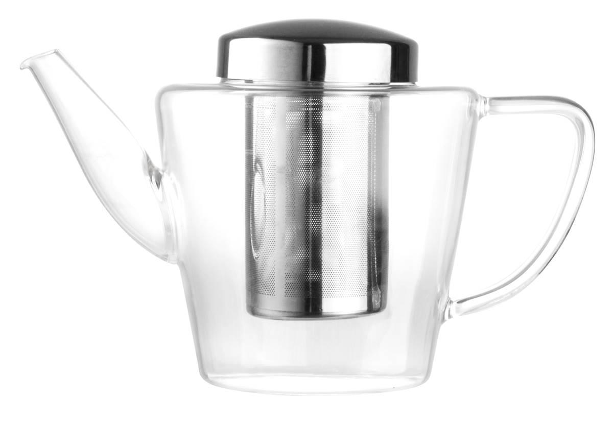 bredemeijer teekanne glas mit sieb 1 2 liter teebereiter edelstahl filter ebay. Black Bedroom Furniture Sets. Home Design Ideas