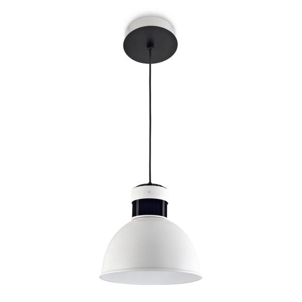 LED Pendelleuchte Pek Ø 320 mm weiss