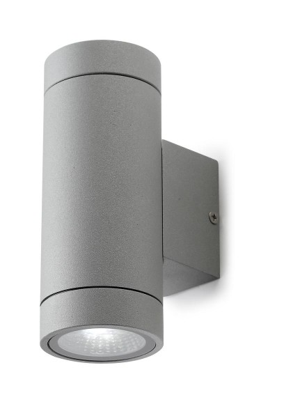 LED Wandleuchte Terry Ø 7 mm grau