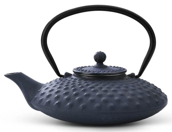 Bredemeijer Teekanne 0,8 L Asia Xilin blau Gusseisen - Art.-Nr. G001B
