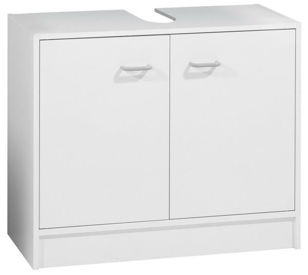 Fackelmann 85212 Waschbecken Unterschrank Standard weiß matt