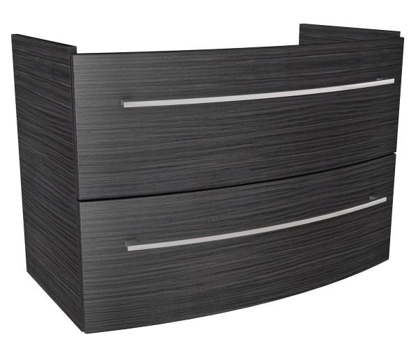 Fackelmann 80102 Waschtisch Unterschrank Lino 85 cm dunkle Eiche