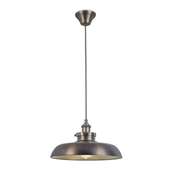 Pendelleuchte Vintage Ø 350 mm patiniert Bronze