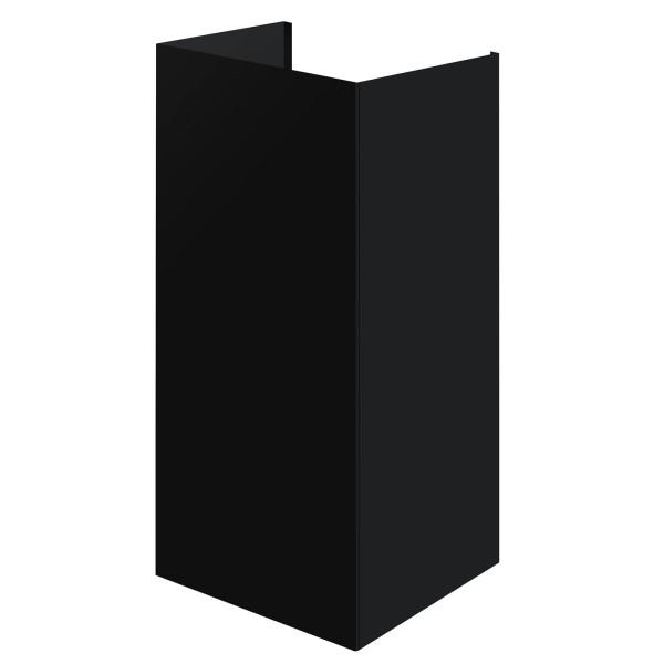 Oranier schwarzer Komplett-Schacht für Kopffrei Wandhaube Vivio S
