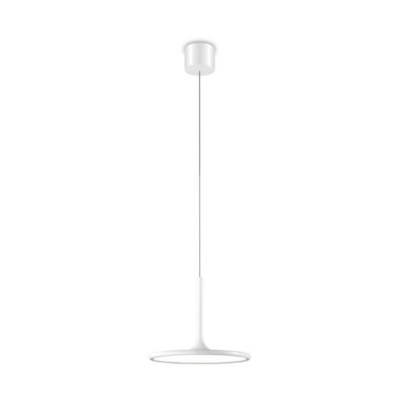 LED Pendelleuchte Net Ø 250 mm matt weiss