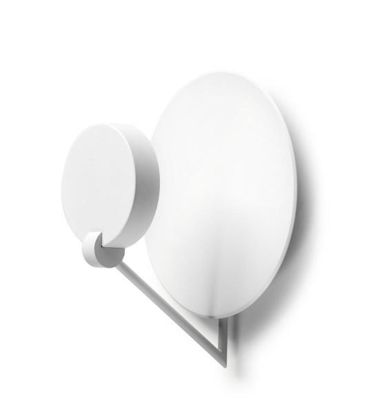 LED Deckenleuchte Ibis Ø 370 mm matt weiss