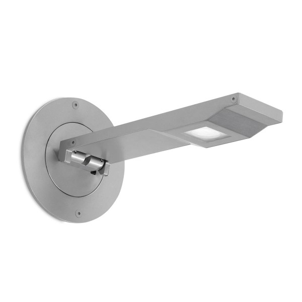 LED Wandleuchte On-Off Ø 115 mm grau