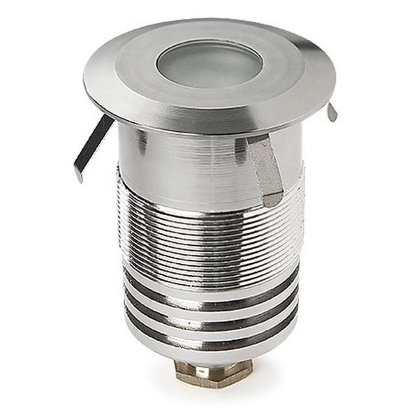 LED Bodeneinbauleuchte Gea Ø 60 mm eloxiert