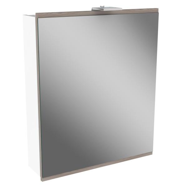 Fackelmann 84782 LED Spiegelschrank Lima 60 cm weiß