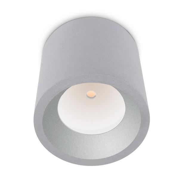 LED Deckenleuchte Cosmos Ø 126 mm grau