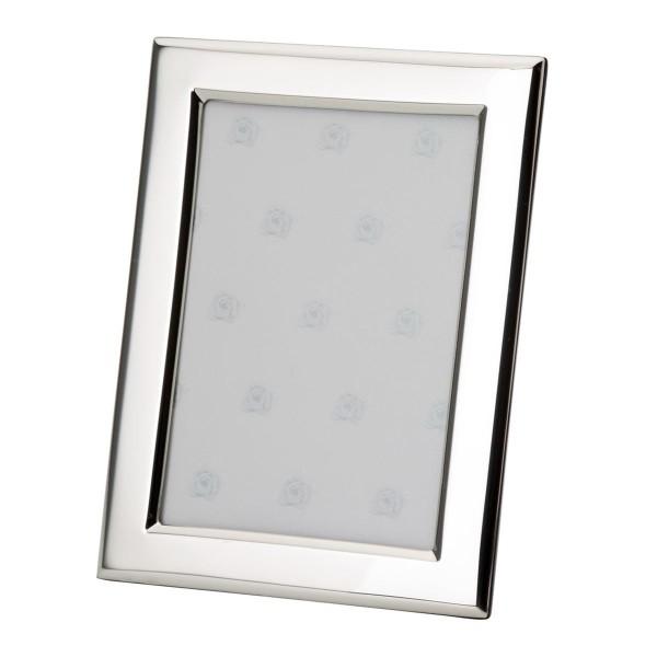 H.Bauer jun. Fotorahmen x 6 cm glatt poliert Höhe 9 cm - Art.-Nr. 3735 echt silberner