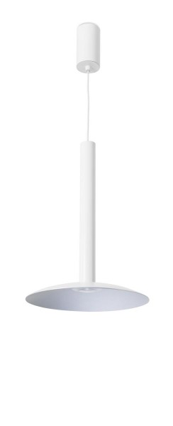 LED Pendelleuchte Stylus Ø oben= 55, unten= 222 mm matt weiss grau