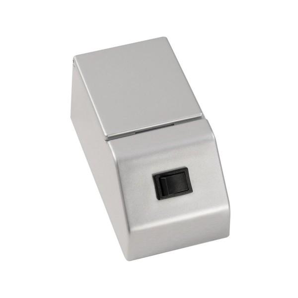 Fackelmann 84378 Kombibox für Spiegelschränke silber