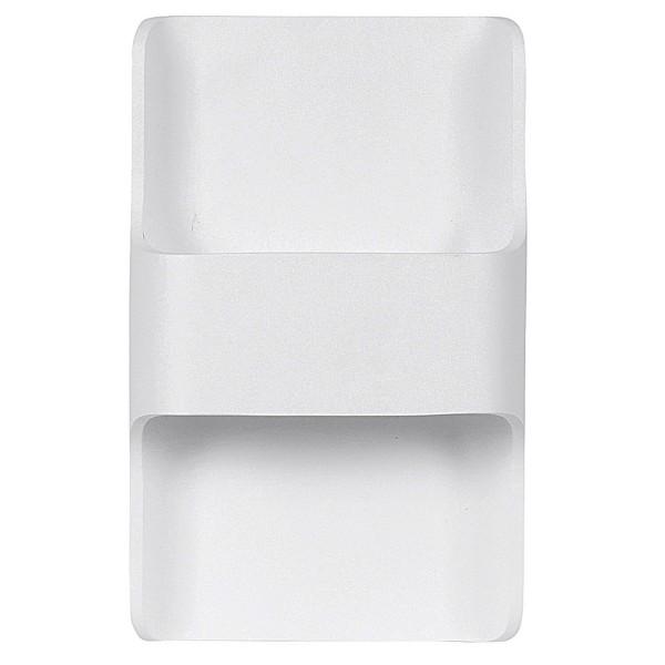 dimmbare weiße LED Innen Außen Wandleuchte 24 cm