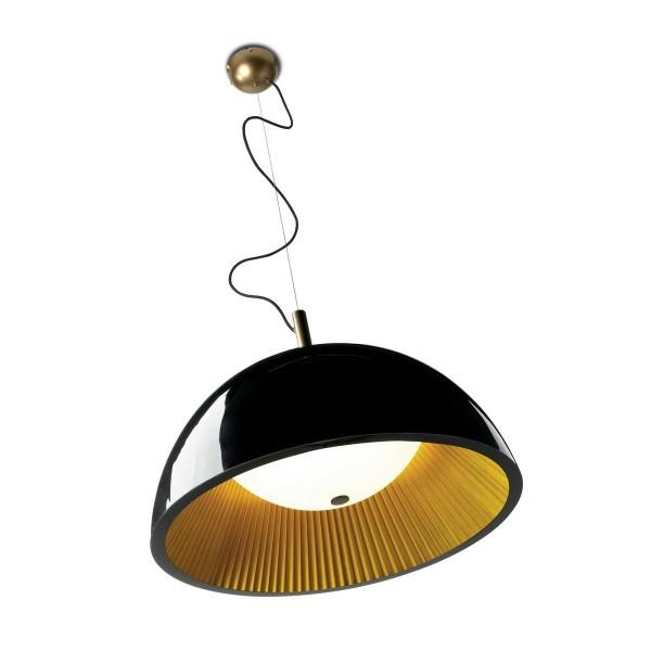 Pendelleuchte Umbrella Ø 600 mm goldfarben schwarz lackiert