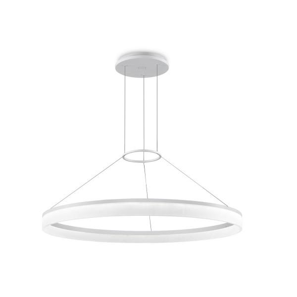 LED Pendelleuchte Circ Ø 1000 mm matt weiss