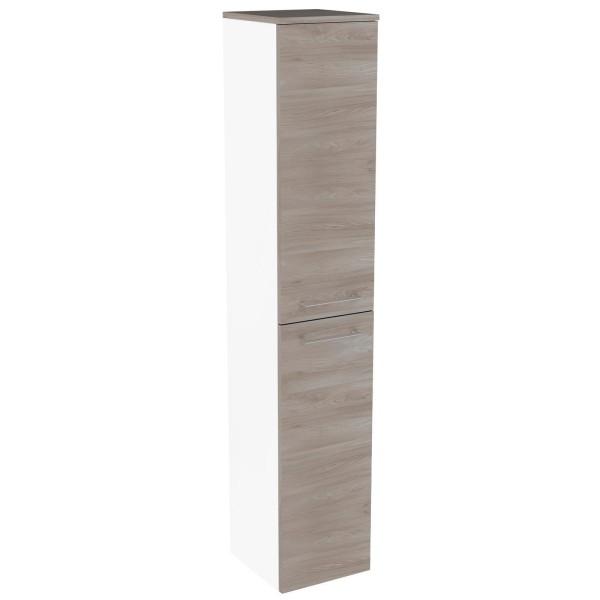 Fackelmann 84752 Hochschrank Lima 30 cm weiß