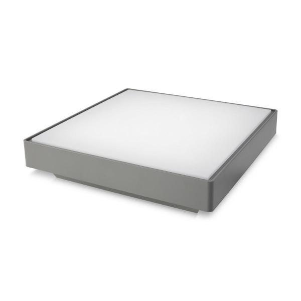 LED Deckenleuchte Kössel Ø 400 mm grau