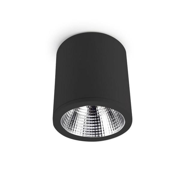 LED Deckenleuchte Exit Ø 180 mm schwarz