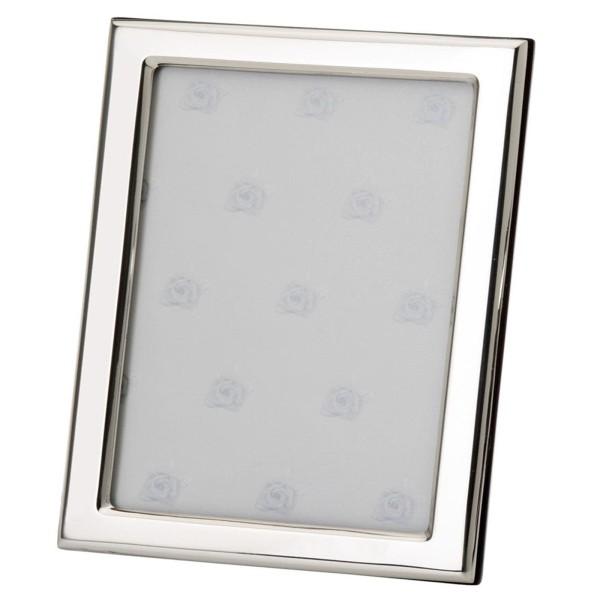 großer Fotorahmen 925 Silber mit Holzrücken 18x24 cm