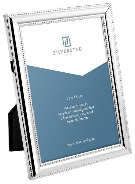 Zilverstad Bilderrahmen Perl versilbert anlaufgeschützt L 13 cm H 18 cm - Art.-Nr. 6150201