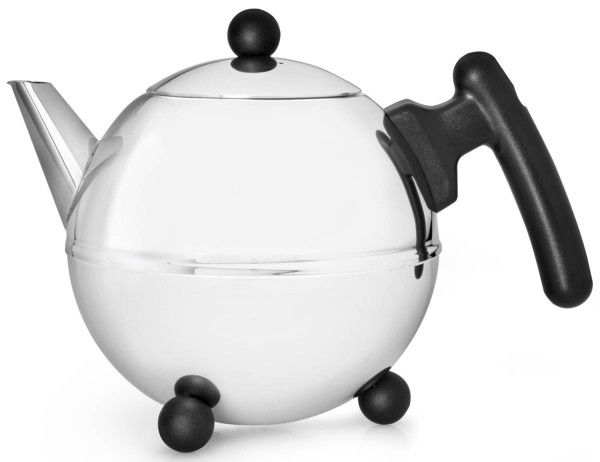 Bredemeijer Teekanne 0,75 L Duet Bella Ronde Edelstahl doppelwandig - Art.-Nr. 1303Z - Bild 1