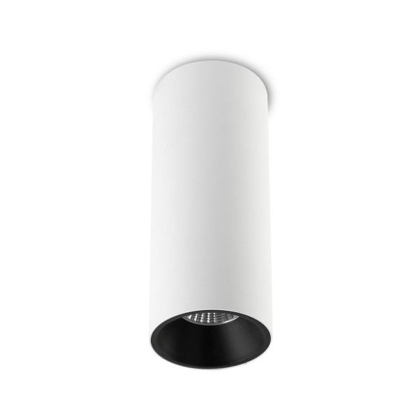 LED Deckenleuchte Play Surface Ø 72,5 mm weiss