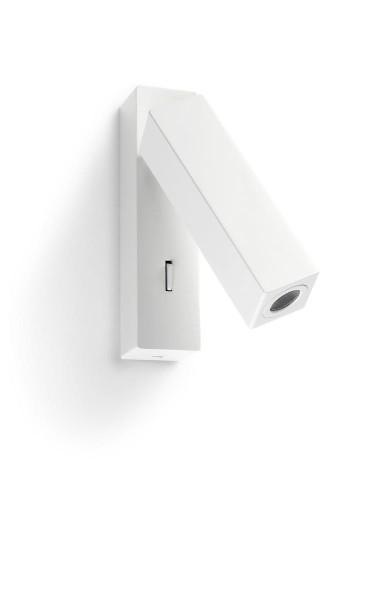 LED Wandleuchte Hall matt weiss