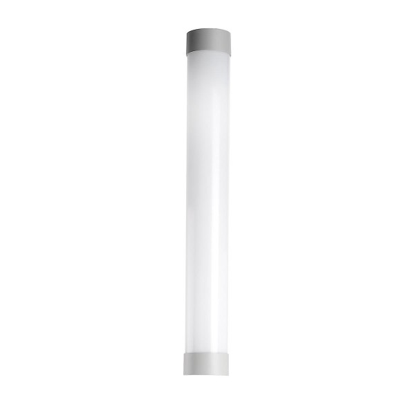 LED Leuchtenkopf Lyon Ø 130 mm grau