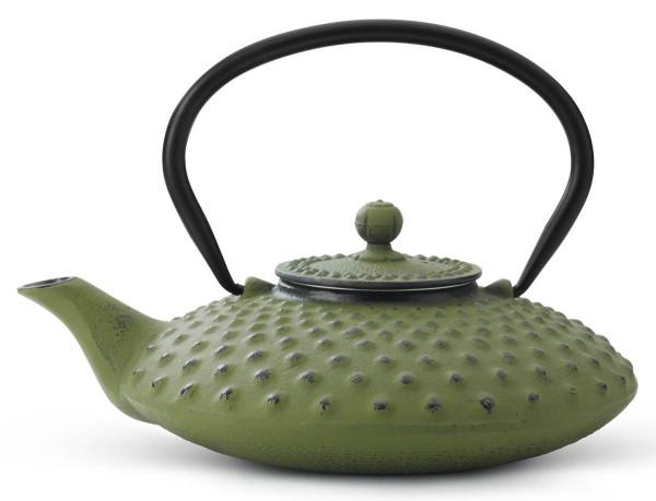 Bredemeijer Teekanne 0,8 L Asia Xilin grün Gusseisen - Art.-Nr. G001GR