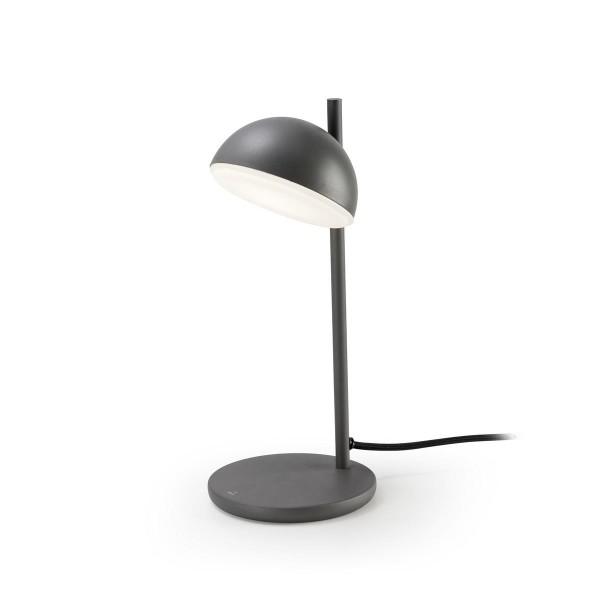 LED Tischleuchte Talk anthrazit