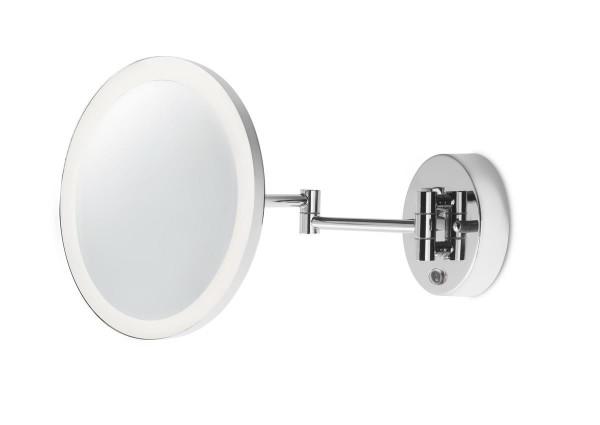 LED Spiegel Reflex Ø oben= 230, unten= 120 mm chrom