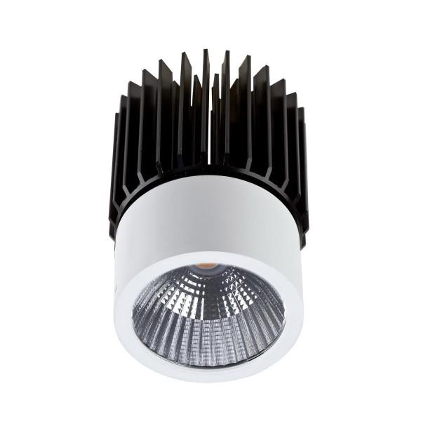 LED Einbauleuchte Play Ø oben= 53, unten= 48 mm weiss