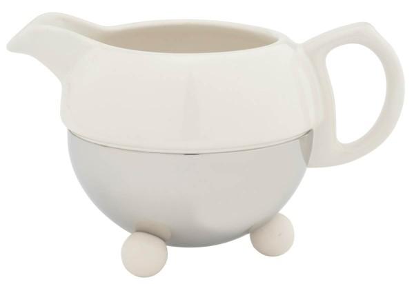 Bredemeijer Milchkännchen Cosy Keramik Edelstahl - Art.-Nr. 1418W