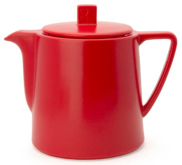Bredemeijer Teekanne 1,0 L Lund rot Keramik - Art.-Nr. LD002R