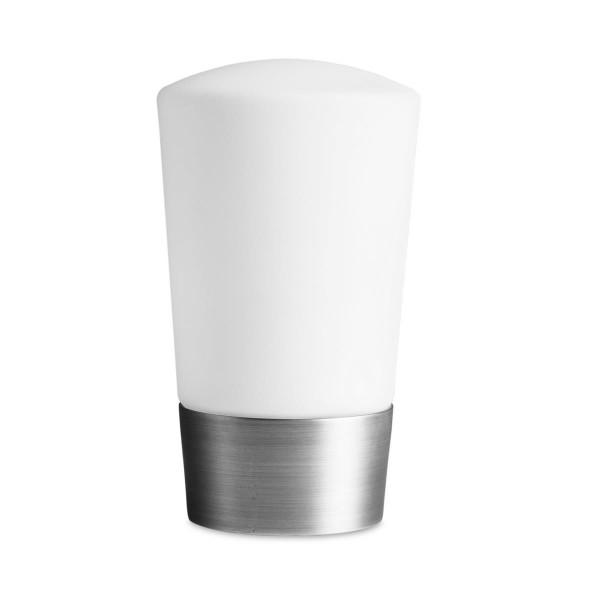 LED Tischleuchte Next Ø 113 mm nickel satiniert