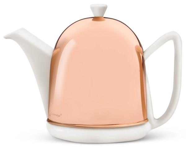 Bredemeijer Teekanne 1,0 L Cosy Manto kupfer Edelstahl & Keramik doppelwandig - Art.-Nr. 1510WK