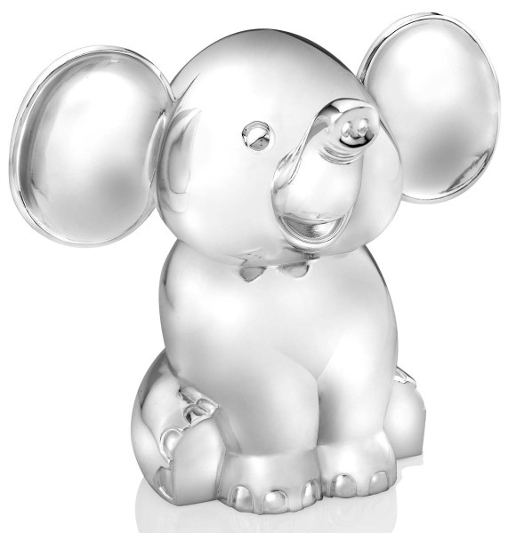 Zilverstad Spardose Elefant versilbert L 110 mm B 136 mm H 112 mm - Art.-Nr. 6035261