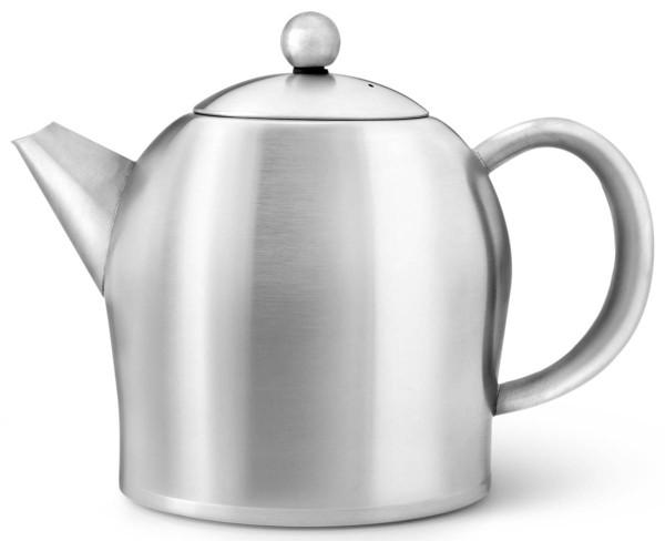 Bredemeijer Teekanne 1 L Minuet Santhee Edelstahl doppelwandig - Art.-Nr. 3306MS - Bild 1