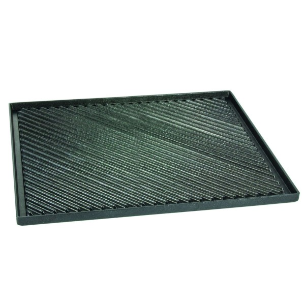 AMT kleine Grillplatte Pizzaplatte GN 2/3 Aluguss 137733G - Art.-Nr. 13733G