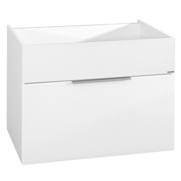 Fackelmann 80934 Waschbecken Unterschrank Kara White 80 cm weiß matt