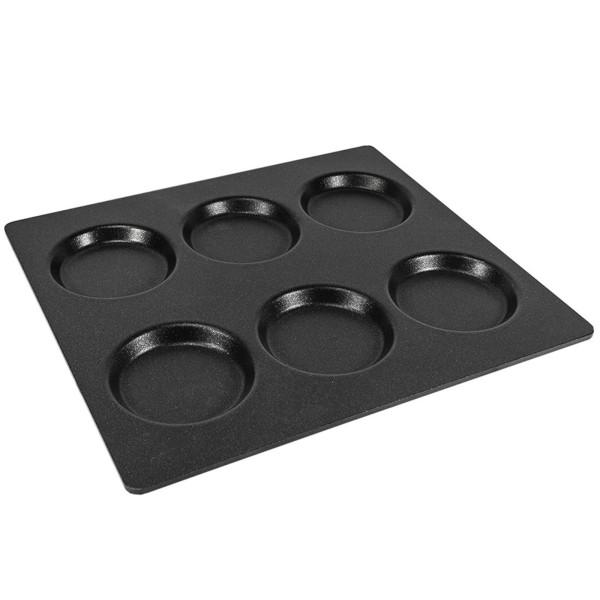 AMT große Muffinform Gastro Platte GN 2/3 Aluguss 3733MP - Art.-Nr. 3733MP