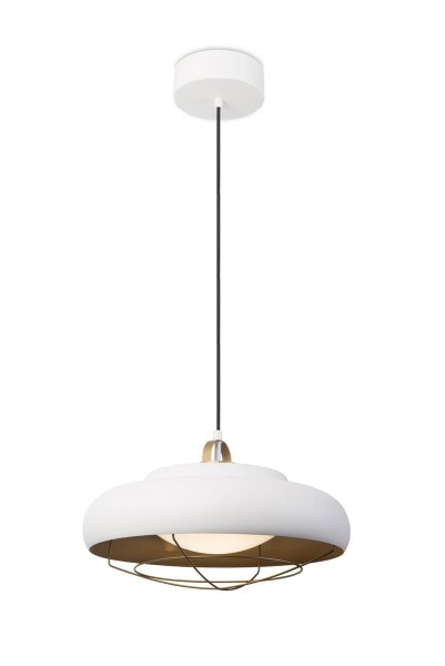 LED Pendelleuchte Sugar Ø oben= 150, unten= 400 mm matt schwarz