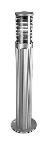 Pollerleuchte Temis Ø 14 mm grau