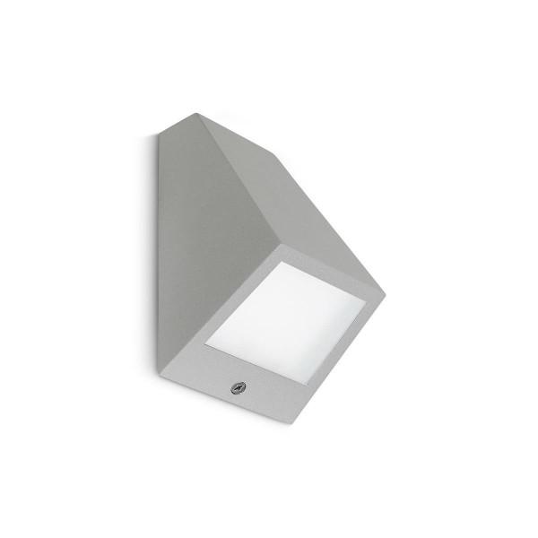 LED Wandleuchte Angle grau
