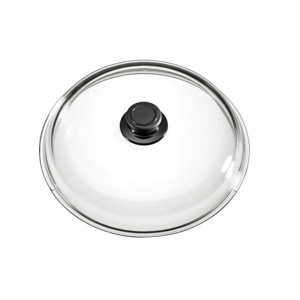 Eurolux runder Glasdeckel backofenfest bis 230°C 16 cm - Art.-Nr. 016
