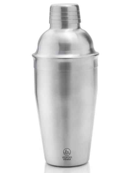 Leopold Vienna Cocktailshaker Edelstahl satiniert 500 ml - Art.-Nr. LV00803