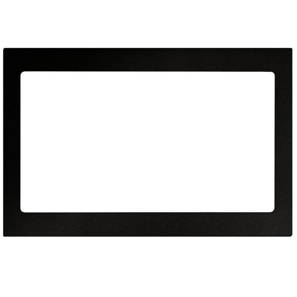 Oranier schwarzer Einbaurahmen für Kombi-Mikrowelle KMG 9802
