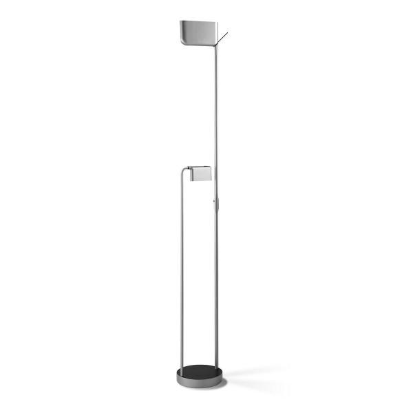 LED Stehleuchte Bold Ø 240 mm aluminium nickel lackiert