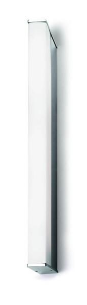LED Wandleuchte Toilet Q chrom